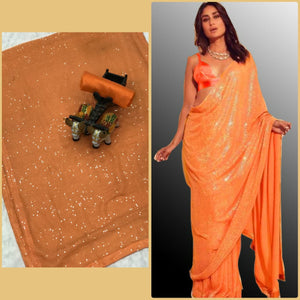 Latest 10 Sets Georgette Sequins Sarees Online Shopping