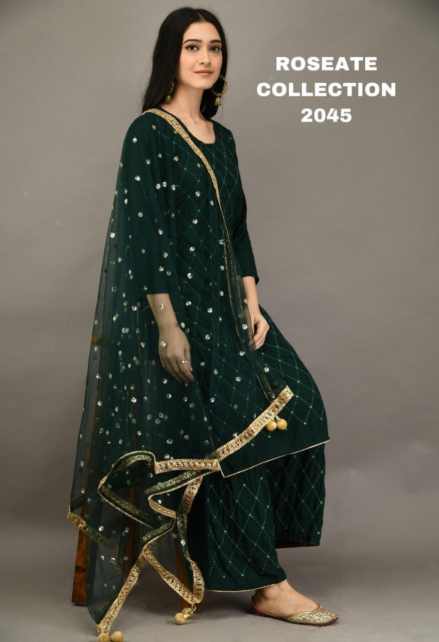 Buy any two Rayon Cotton Kurti With Plazo combo sets