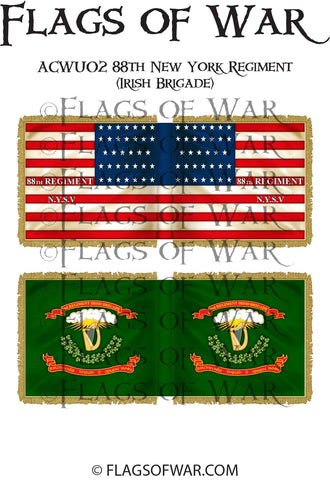 ACWU02 88th New York Regiment (Irish Brigade)