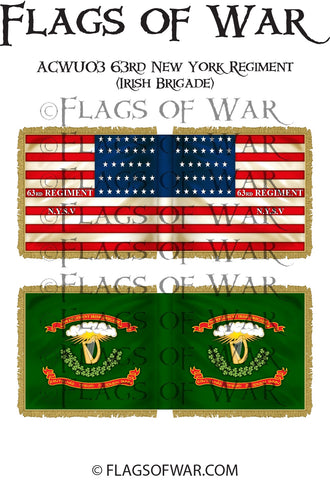 ACWU03 63rd New York Regiment (Irish Brigade)