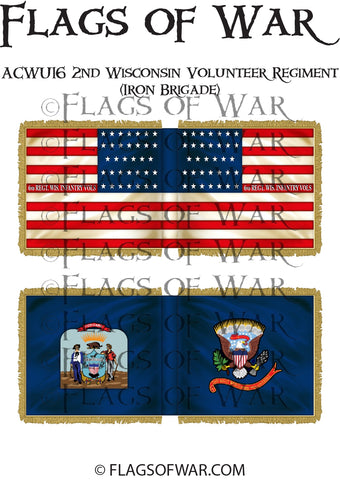 ACWU16 2nd Wisconsin Volunteer Regiment (Iron Brigade)