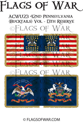 ACWU23 42nd Pennsylvania (Bucktails) Vol - 13th Reserve