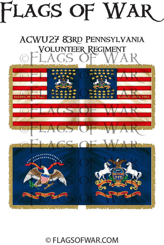 ACWU27 83rd Pennsylvania Volunteer Regiment