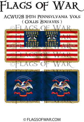 ACWU28 114th Pennsylvania Vols ( Collis Zouaves )