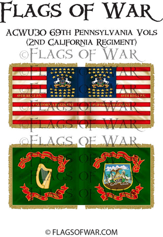 ACWU30 69th Pennsylvania Vols (2nd California Regiment)