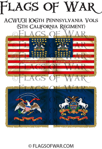 ACWU31 106th Pennsylvania Vols (5th California Regiment)