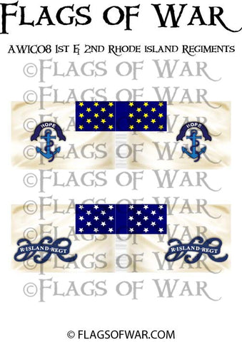 AWIC08 1st & 2nd Rhode island Regiments