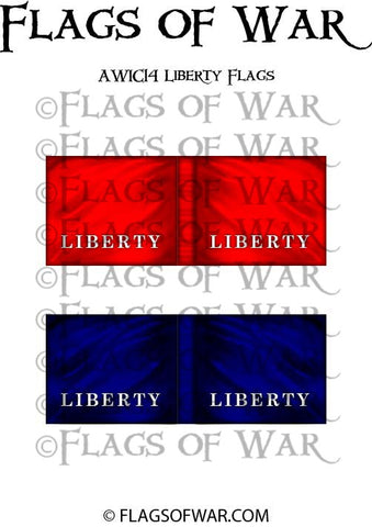 AWIC14 Liberty Flags