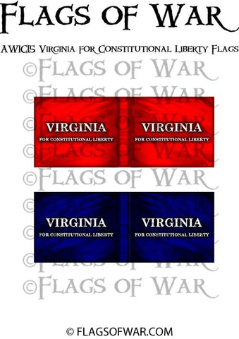 AWIC15 Virginia for Constitutional Liberty Flags
