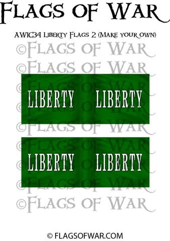 AWIC34 Liberty Flags 2 (Make your own)