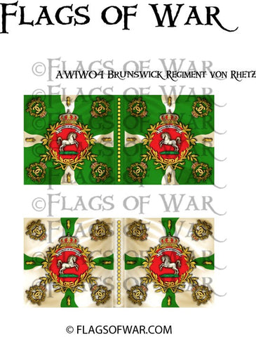 AWIW04 Brunswick Regiment von Rhetz