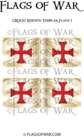CRU01 Knights Templar Flags 1