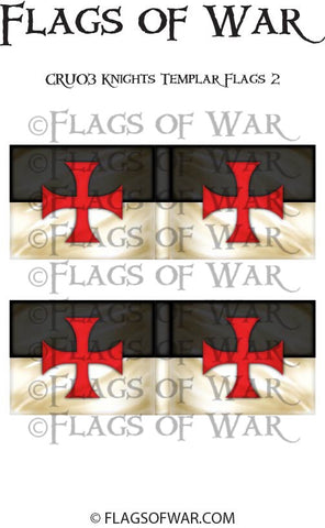 CRU02 Knights Templar Flags 2