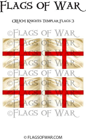 CRU03 Knights Templar Flags 3