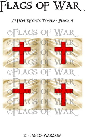 CRU04 Knights Templar Flags 4