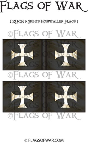 CRU05 Knights Hospitaller Flags 1