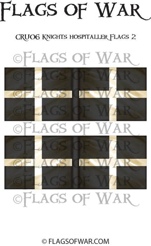 CRU06 Knights Hospitaller Flags 2