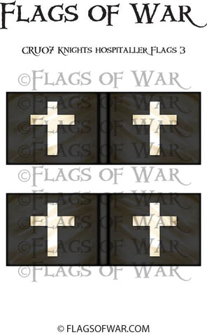 CRU07 Knights Hospitaller Flags 3
