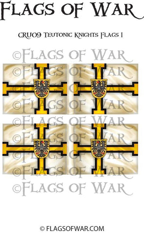 CRU09 Teutonic Knights Flags 1