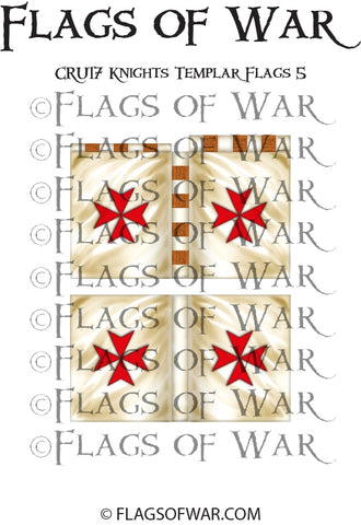 CRU17 Knights Templar Flags 5