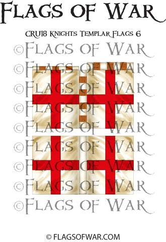 CRU18 Knights Templar Flags 6