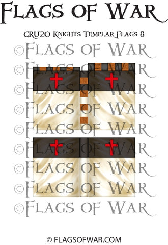 CRU20 Knights Templar Flags 8