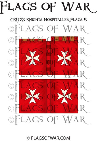 CRU23 Knights Hospitaller Flags 5