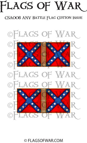 CSA008 ANV Battle Flag Cotton Issue