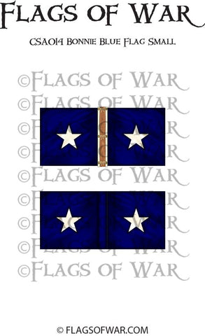 CSA014 Bonnie Blue Flag Small