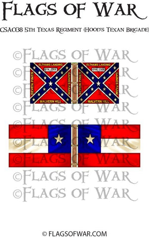 CSA038 5th Texas Regiment (Hood's Texan Brigade)