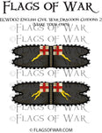 ECWD02 English Civil War Dragoon Guidons 2 (Make your own)
