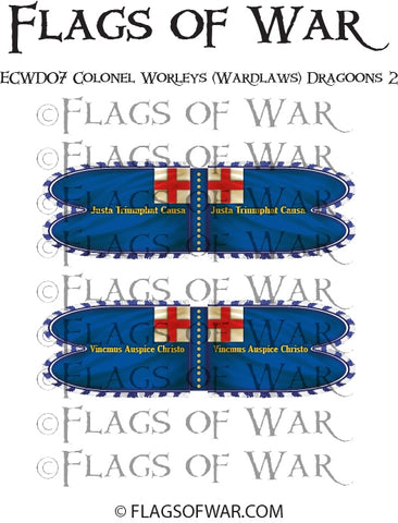 ECWD07 Colonel Worleys (Wardlaws) Dragoons (Parliment) 2