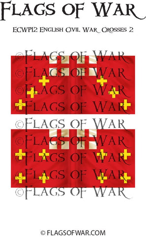 ECWG12 English Civil War Crosses 2 (Make your own)