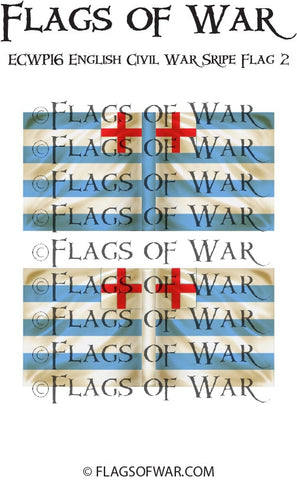 ECWG16 English Civil War Sripe Flag 2 (Make your own)