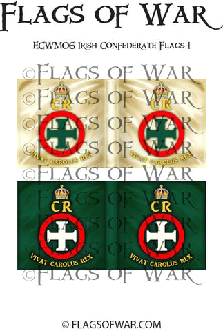 ECWM06 Irish Confederate Flags 1