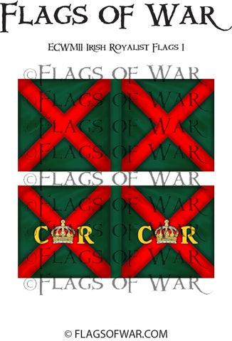 ECWM11 Irish Royalist Flags (Make your own)