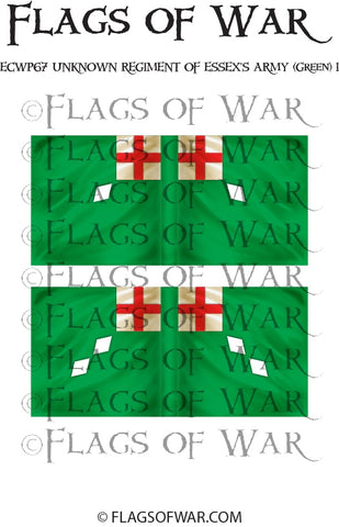 ECWP67 Unknown Regiment Of Essex's Army (Green) 1