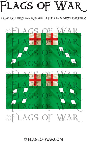 ECWP68 Unknown Regiment Of Essex's Army (Green) 2