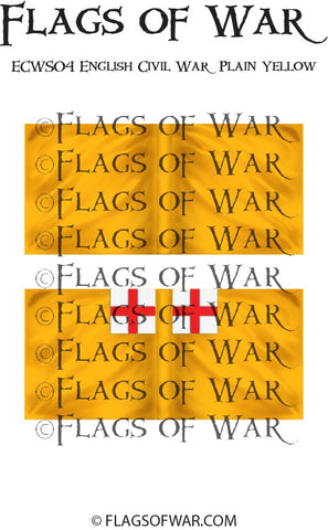 ECWS04 English Civil War Plain Yellow