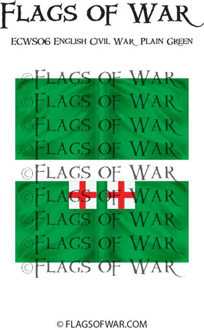 ECWS06 English Civil War Plain Green