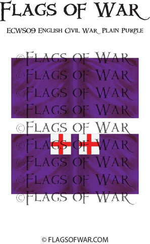 ECWS09 English Civil War Plain Purple