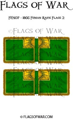 FEN07 - 1866 Fenian Raids Flags 2