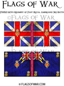 FIWB21 60th Regiment of Foot (Royal Americans) 3rd Battn