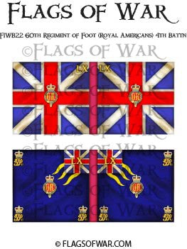 FIWB22 60th Regiment of Foot (Royal Americans) 4th Battn