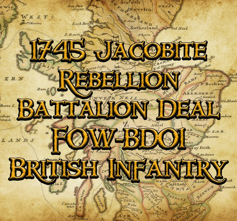 FOW-BD01 Battalion Deal - British Infantry