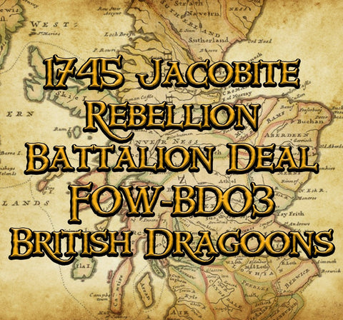 FOW-BD03 Battalion Deal - British Dragoons