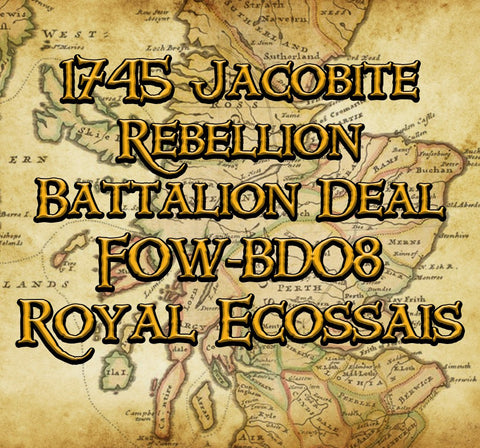 FOW-BD08 Battalion Deal - Royal Ecossais