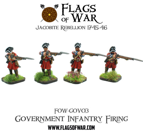 FOW-GOV03 Government Infantry - Firing