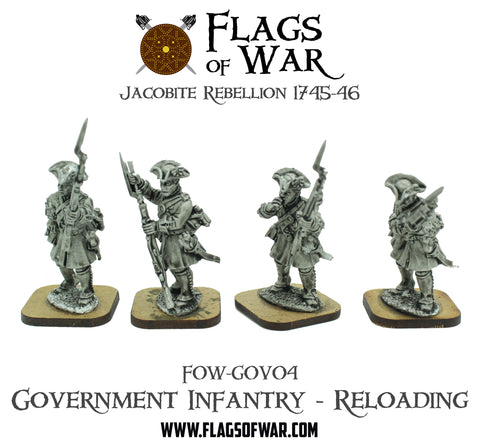 FOW-GOV04 Government Infantry - Reloading