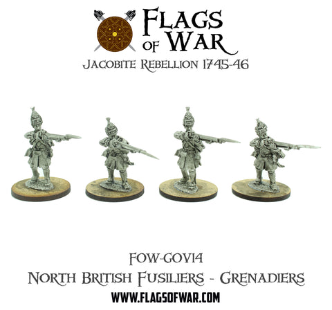 FOW-GOV14 North British Fusiliers - Grenadiers  (Pre-Order)